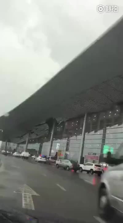 Watch and share Airport Roof Breaking GIFs on Gfycat