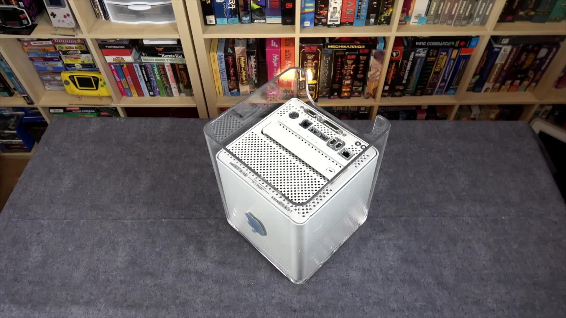 Power Mac G4 Cube upgrade GIFs