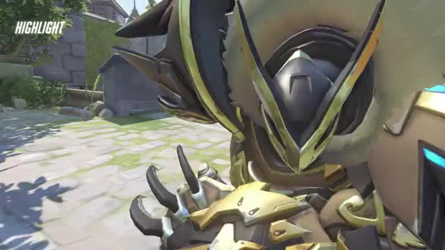 Watch Keep Swinging GIF by @ayuhdale on Gfycat. Discover more Overwatch, Reinhardt, highlight GIFs on Gfycat