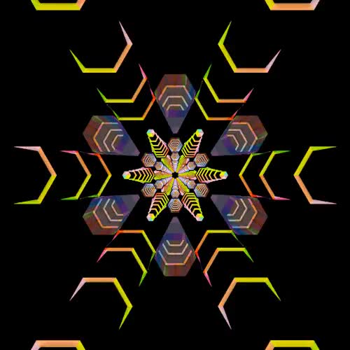 Watch and share The Yet Most Spectacular Series Of Psychedelic GIFs From Artist Hexeosis GIFs on Gfycat