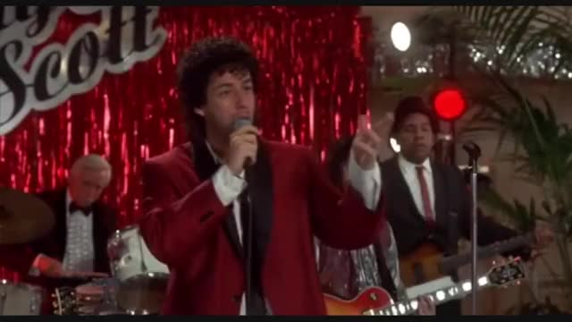 Adam Sandler - Love Stinks HD 12 Adam, sandler, wedding, singer, love, stinks, have, microphone, dont, strangle, wire, High, Definition, HD, Great, Good, Quality, Funny, Best, Scene, Punch, Fat, Guy, Cake, Table, mutants, HQ GIF