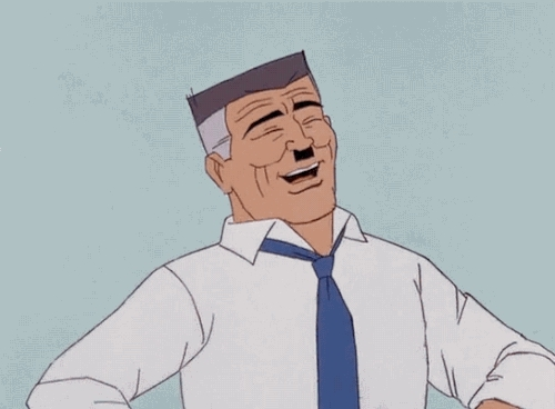1960s spider-man, 1967, gif, j. jonah jameson, laughing, my gif, spider-man, spider-man gif, Hilarious! GIFs