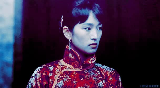 Watch and share Posted Gong Li Li Gong Curse Of The Golden Flower China My Gifs 18Posted Gong Li Li Gong My Gifs Raise The Red Lantern GIFs on Gfycat