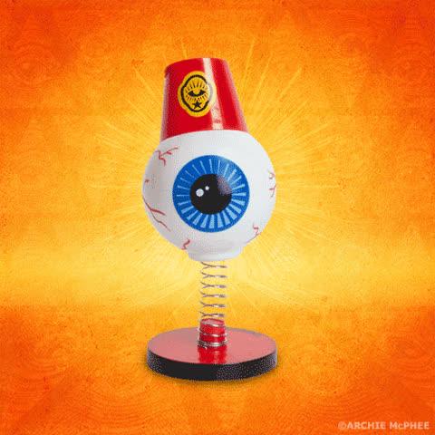 Dashboard Eyeball Wiggler GIFs