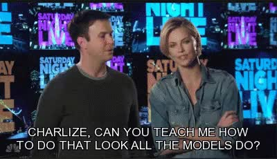 Watch and share Charlize Theron GIFs and Taran Killam GIFs on Gfycat