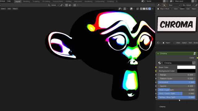 Toon Shader (Blender EEVEE) | Chroma GIF | Find, Make & Share Gfycat