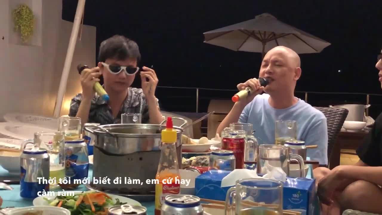 Clip: Nghe ngay #LRCKN (Trúc Nhân) phiên bản bàn nhậu từ Nguyễn Hải Phong  Bùi Công Nam ảnh 2