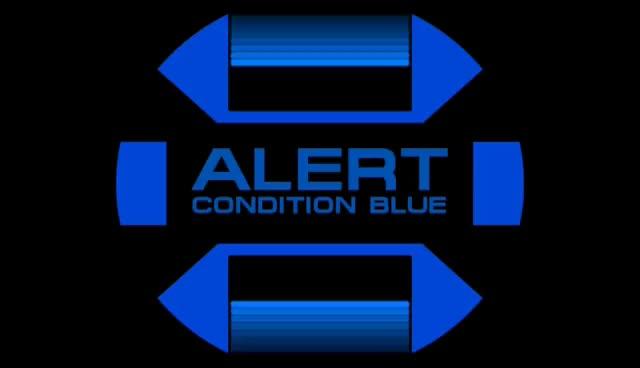 Watch and share Star Trek Blue Alert Screen GIFs on Gfycat