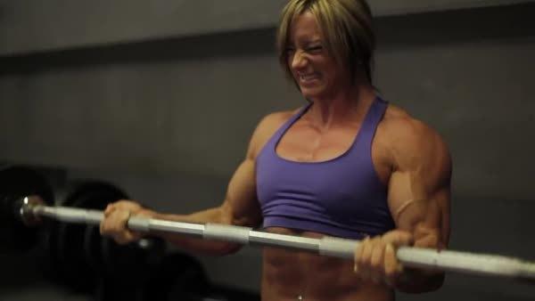 fbb, hardbodies, muscleworship, Katka Kyptova GIFs