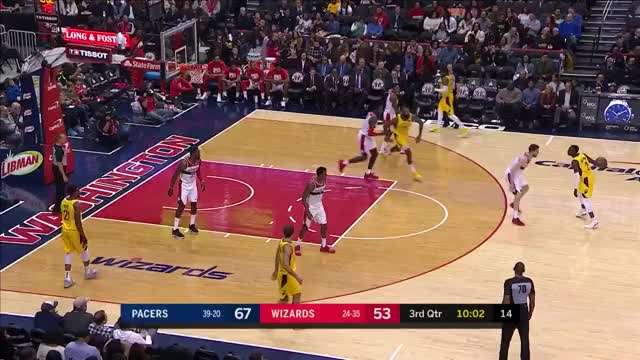Watch and share Washington Wizards GIFs and Indiana Pacers GIFs on Gfycat