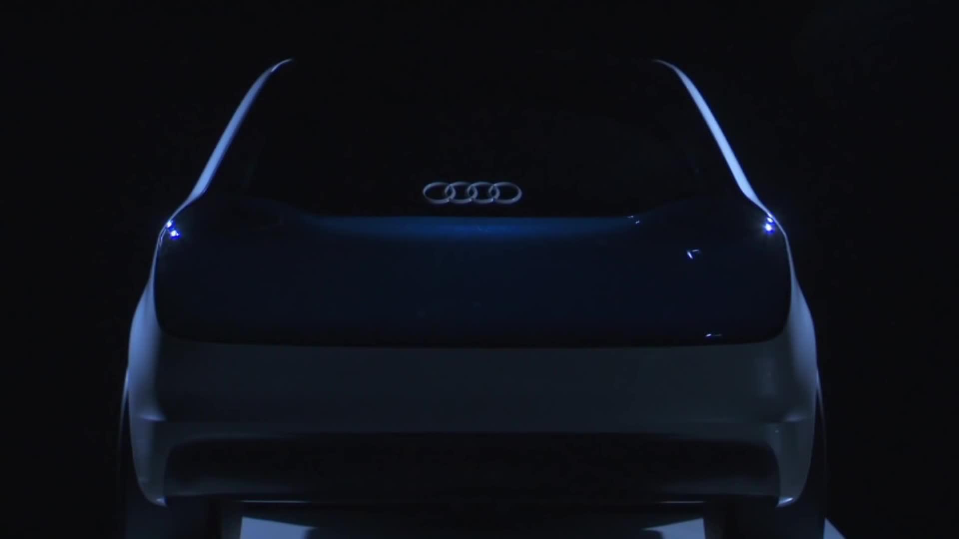 RocketLeague, red oled panels, the swarm, Audi OLED - The swarm - 2013 Audi Concept Cars GIFs