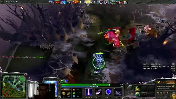 Dota 2 Stream: Na`Vi XBOCT - Luna (Gameplay & Commentary) (reddit)