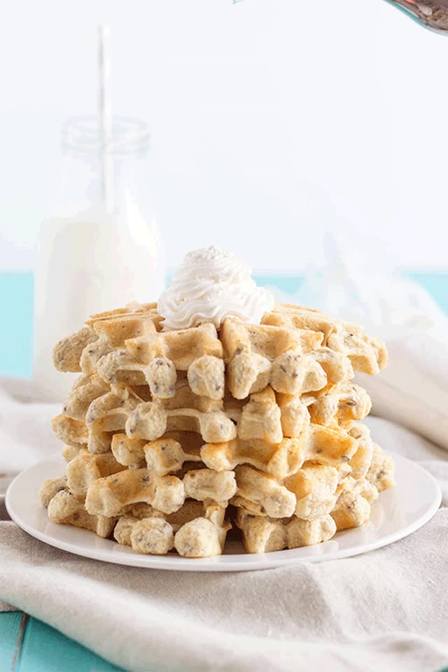 Watch and share Protein Waffles GIF GIFs on Gfycat