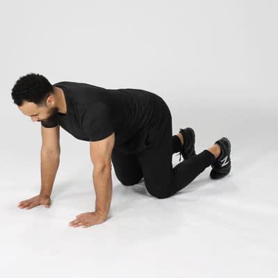 exercise, healthline, work out, 400x400-Leg Kick backs GIFs