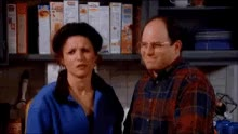 Watch and share Julia Louis Dreyfus GIFs and George Costanza GIFs on Gfycat