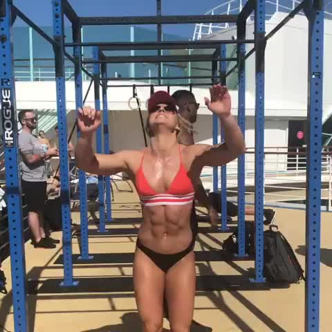 fit, fitness, workout, Claire Thomas GIFs