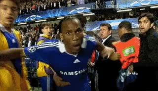 Watch and share Didier Drogba GIFs on Gfycat