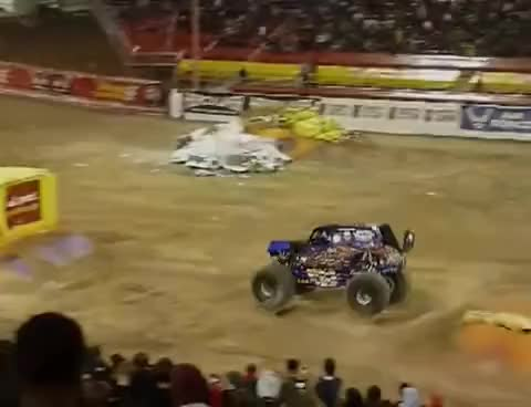 Watch and share Gravedigger GIFs and Backflip GIFs on Gfycat