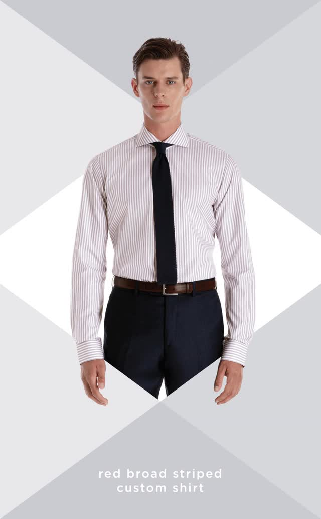 Watch and share 3 Steps To The Perfect Fitted Dress Shirt GIFs on Gfycat