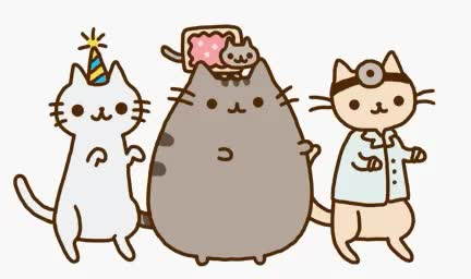 cat, celebrate, dance, happy, kitty, party, pet, pusheen, Happy cats GIFs