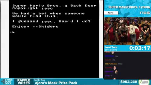 Watch and share A Bot Hacks Super Mario Bros. 3 At Awesome Games Done Quick 2016 GIFs on Gfycat