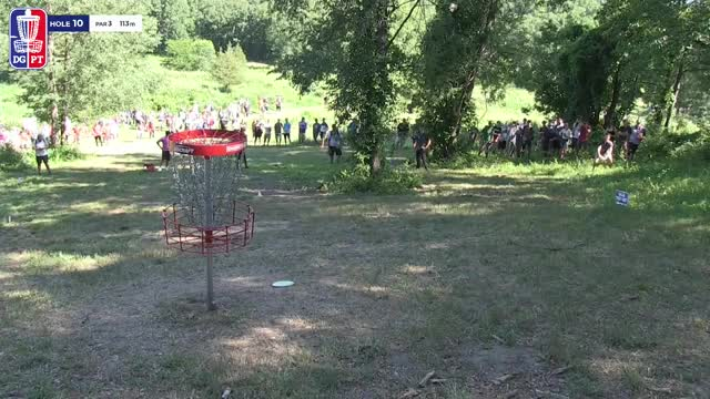 Watch Round Two 2018 Discraft's Great Lakes Open - Nikko Locastro hole 10 GIF by Benn Wineka UWDG (@bennwineka) on Gfycat. Discover more dgpt, disc golf, disc golf pro tour GIFs on Gfycat