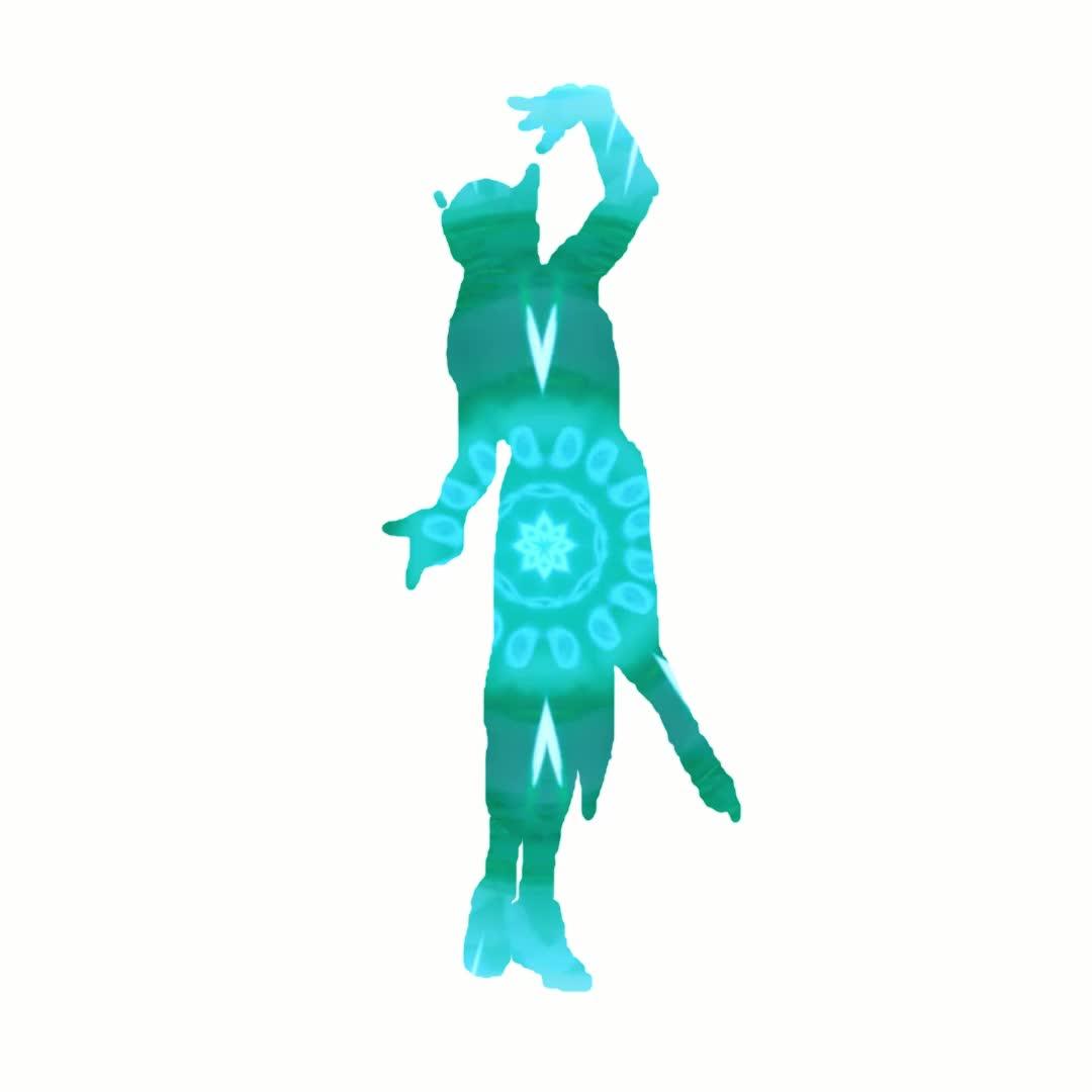 overwatch, symmetra, Symmetra Dance Silhouette GIFs