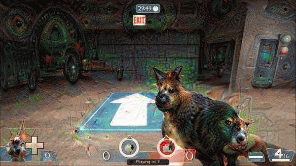 deepdream, tf2, I ran each frame of this TF2 GIF through Google's deep dream code. The results are terrifying. (reddit) GIFs