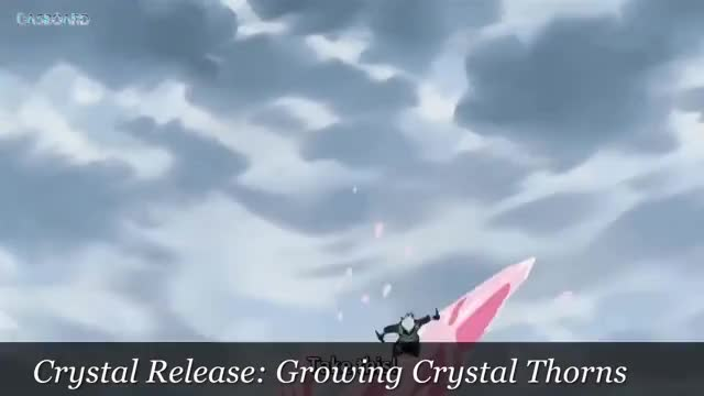 Watch Naruto 10 Minutes of Crystal Style and Yang Style | Shouton - All of Crystal Style [HD] GIF on Gfycat. Discover more 10, Danzo, Hinata, Kakashi, Naruto, crystal, hd, kabuto, munites, sasuke, shouton, water GIFs on Gfycat
