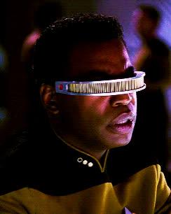 Geordi La Forge, LeVar Burton, Reaction, Star Trek, Star Trek The Next Generation, TNG, The Next Generation, Geordi La Forge 2 GIFs