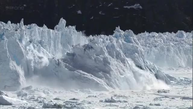 Watch and share A Chunk Of Iceberg Collapsing GIFs on Gfycat