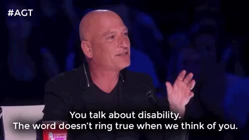 Watch *standing ovation for Howie Mandel* GIF on Gfycat. Discover more agt, america's got talent, clapping, drew lynch, howie mandel, inspiring, on our feet, wow GIFs on Gfycat