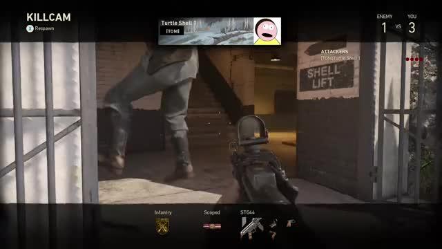 Watch COD WW2 GIF by Gamer DVR (@xboxdvr) on Gfycat. Discover more CallofDutyWWII, iKeZaa, xbox, xbox dvr, xbox one GIFs on Gfycat