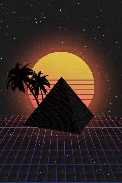 Watch and share Artists On Tumblr GIFs and New Retro Wave GIFs on Gfycat