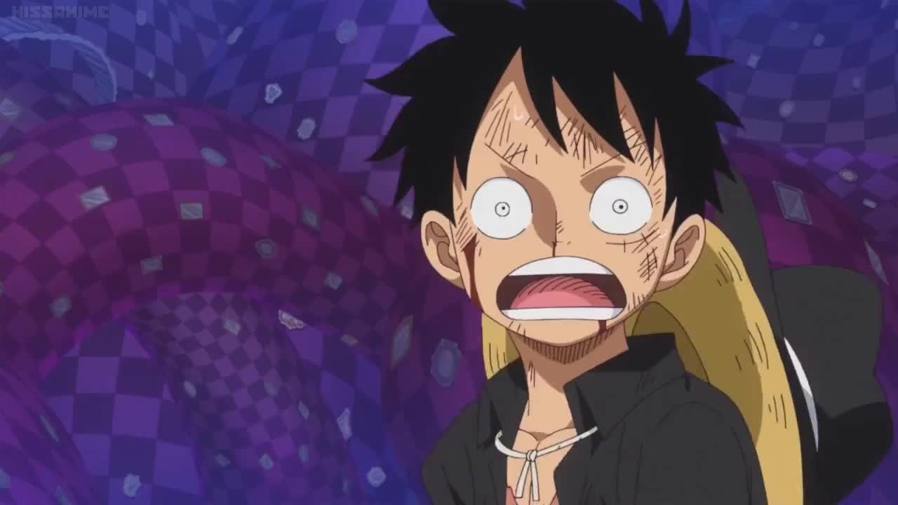onepiece, One Piece 858 - Luffy's Smile to see Brulee! GIFs