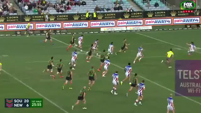 Watch and share NRL 2015 Round 20 Highlights: Knights Vs Rabbitohs (reddit) GIFs on Gfycat