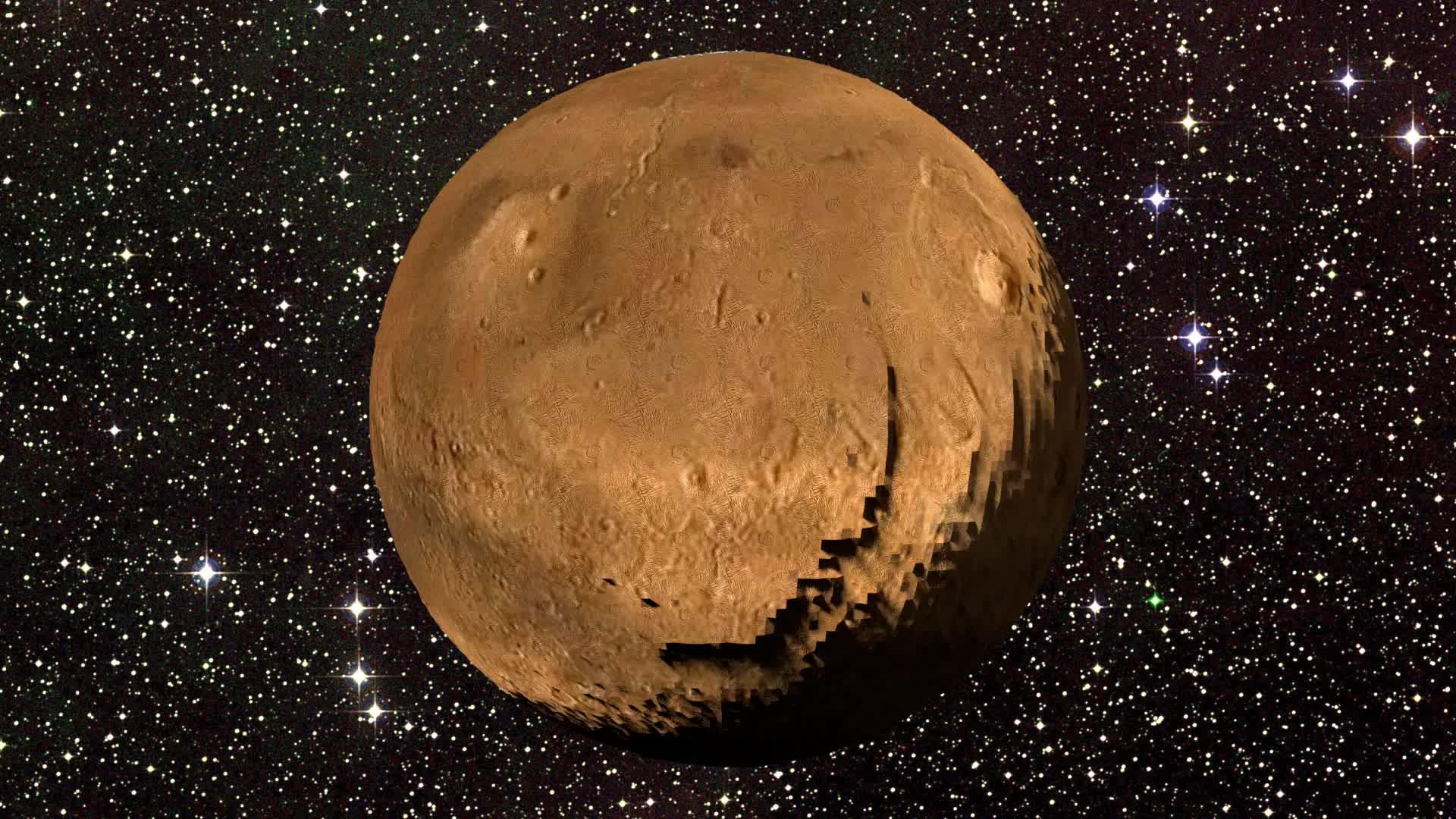 Daily3D, Daily3D#1358—Mars (reddit) GIFs