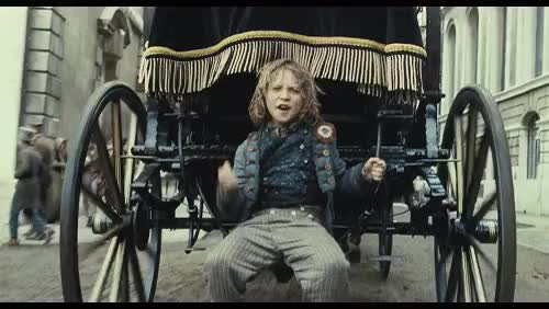 Watch and share Les Mis (2012) | Daniel Huttlestone (Gavroche) In The Film Adaptation Of Les Misérables, The Musical. GIFs on Gfycat