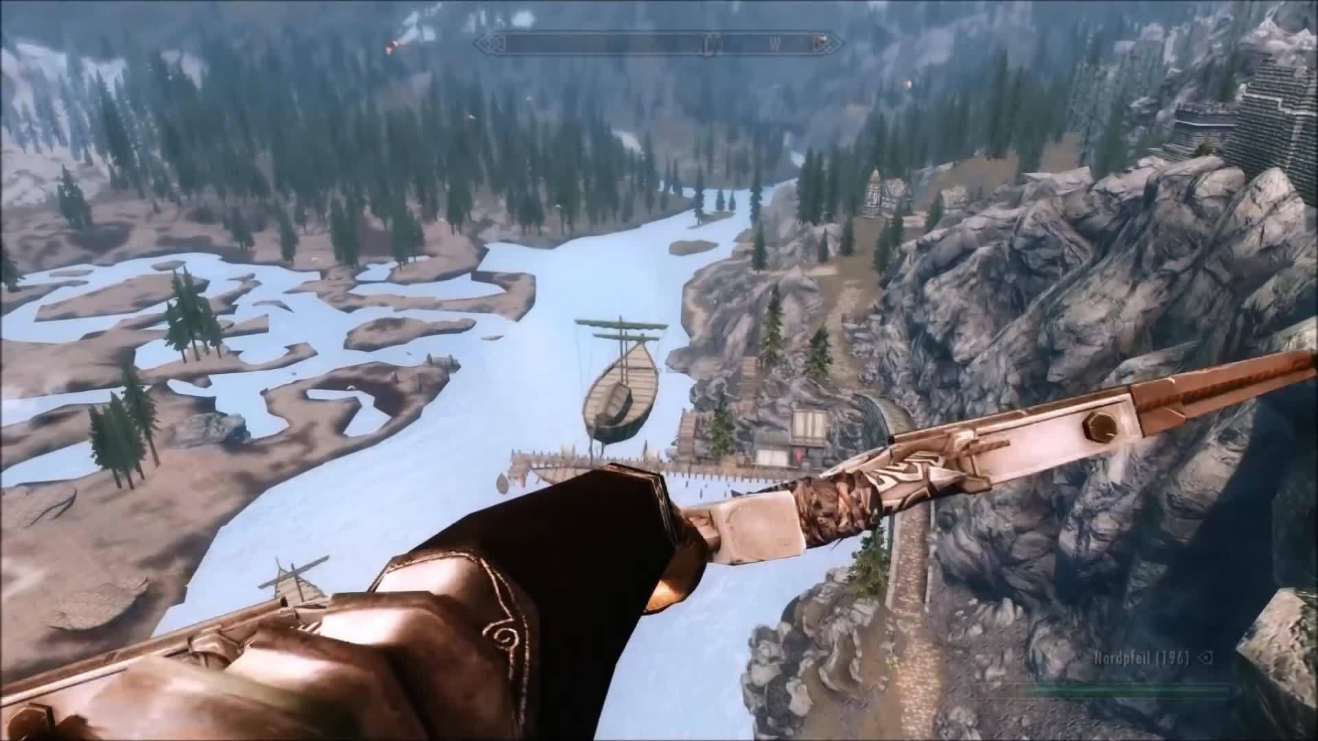 Skyrim  Extreme Archery GIFs