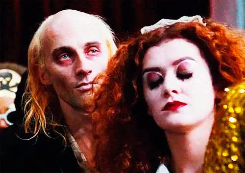Watch and share Richard O'brien GIFs and Patricia Quinn GIFs on Gfycat