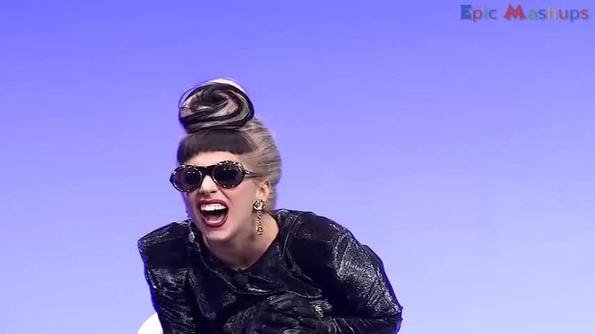 celebrity laughs, funny laughs, weird laugh, Lagy Gaga LOL GIFs