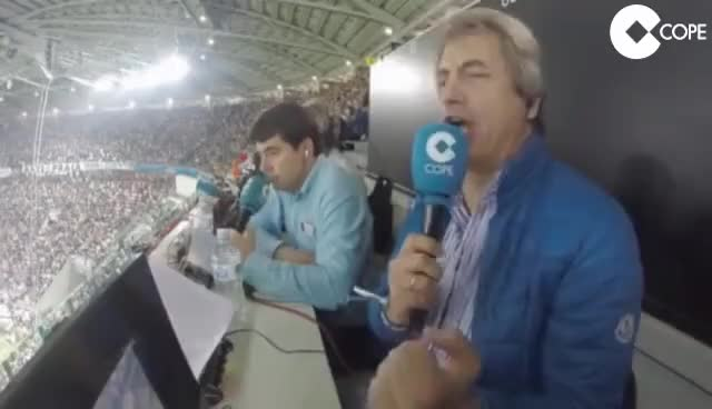 Watch and share El Orgasmo De Manolo Lama Con El Gol De Cristiano 5-6-2015 GIFs on Gfycat