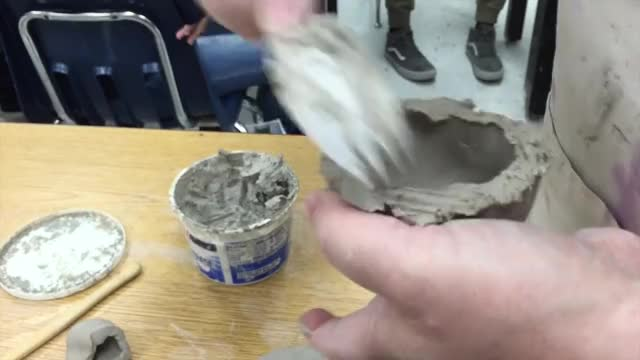 Watch Scoring Clay GIF on Gfycat. Discover more DeLeon Visual Arts, Education, iMovie GIFs on Gfycat