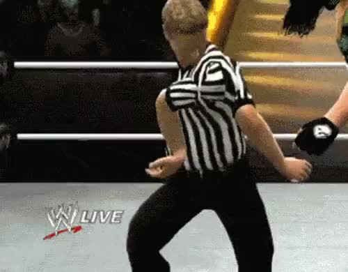 Watch and share Wwe Ref GIFs on Gfycat