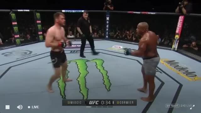 Watch Stipe Miocic vs Daniel Cormier Finishing Sequence GIF on Gfycat. Discover more Daniel Cormier, MMA, Stipe Miocic, UFC, UFC 226 GIFs on Gfycat