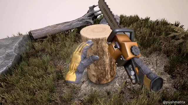 Watch and share Virtual Reality GIFs and Chainsaw GIFs by pushmatrix on Gfycat