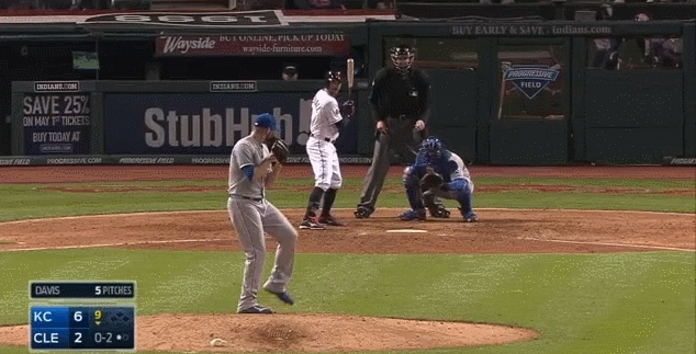 baseball, kcroyals, I love how casual he is about it. (reddit) GIFs