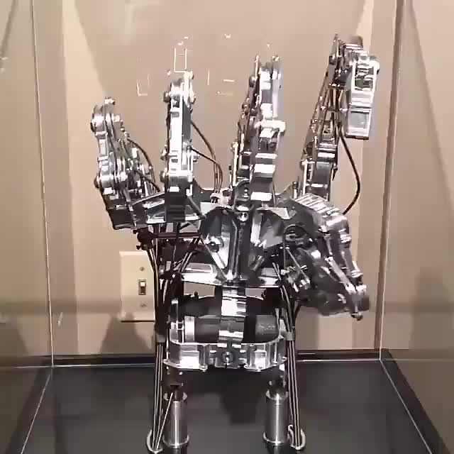 Watch Mechanical hand GIF by FarSizzle (@farsizzle) on Gfycat. Discover more related GIFs on Gfycat