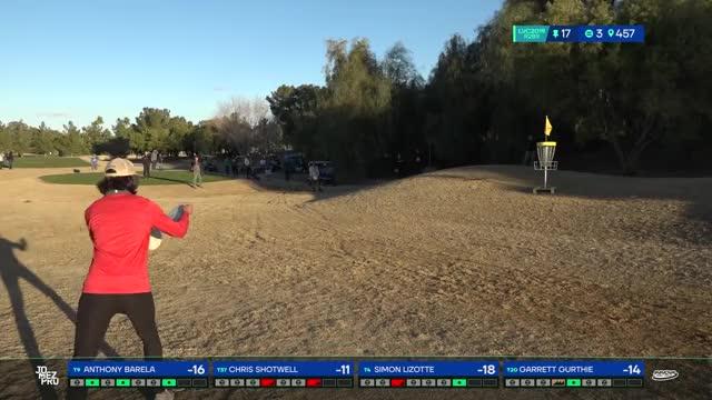 Watch 2019 LVC | Round 2| Anthony Barela hole 17 putt GIF by Benn Wineka UWDG (@bennwineka) on Gfycat. Discover more Sports, disc golf, disc golf 2019, jomez disc golf, jomez productions, jomezpro GIFs on Gfycat