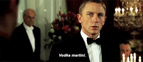 Watch james bond, daniel craig, movie, shaken or stirred, martini GIF on Gfycat. Discover more daniel craig GIFs on Gfycat